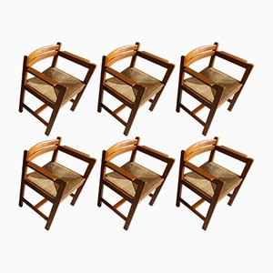 Vintage Dining Chairs by Borge Mogensen for Karl Andersson & Söner, Set of 6