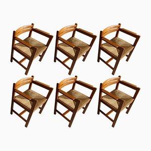 Vintage Esszimmerstühle von Borge Mogensen für Karl Andersson & Söner, 6er Set