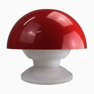 Lámpara de mesa era espacial de Bent Karlb para ASK Denmark, años 70