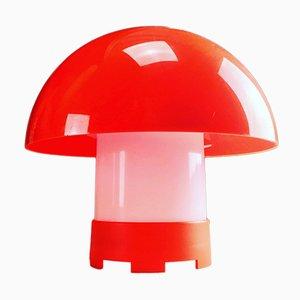 Lámpara de mesa danesa Mid-Century de Bent Karlby para ASK Cebo, años 70