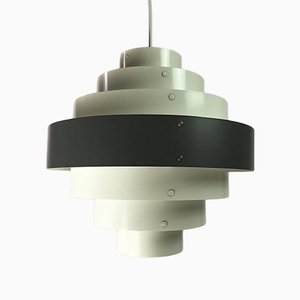 Lámpara de techo danesa Mid-Century de Preben Dal para Hans Følsgaard AS, años 60