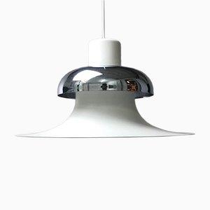 Lámpara de techo danesa Mid-Century de Andreas Hansen para Louis Poulsen, años 70