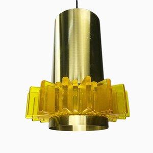 Deckenlampe von Claus Bolby für Cebo, 1960er