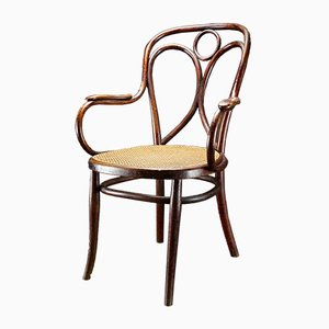 Antique Austrian Chair by Michael Thonet for Gebrueder Thonet Vienna, 1878