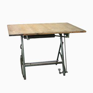 Table à Dessin d'Architecte Pliante de Sautereau, 1950s