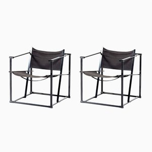 FM61 Cubic Chairs by Radboud van Beekum for Pastoe, 1970s, Set of 2