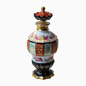 Bote de perfume parisino antiguo con chinoiserie