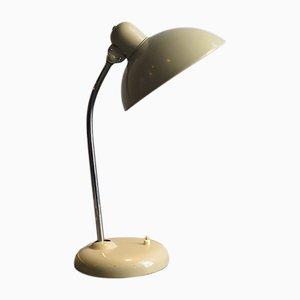 Lámpara de escritorio alemana Mid-Century de metal, años 50