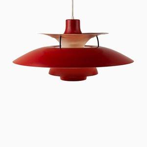 Lámpara colgante PH5 vintage de Poul Henningsen para Louis Poulsen