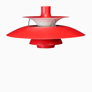 Vintage PH5 Pendant Light by Poul Henningsen for Louis Poulsen