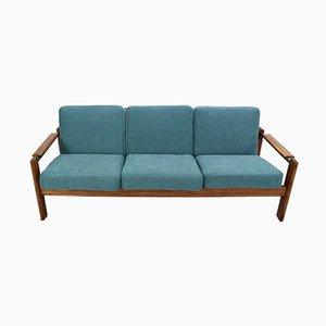 Vintage 3-Sitzer Sofa aus Palisander, 1960er