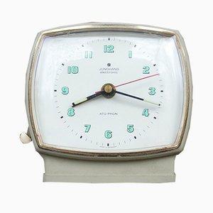 Reloj despertador vintage de Junghans, años 60
