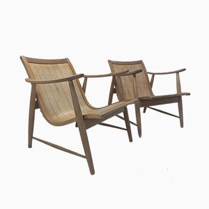 Ronco Armchairs by Jacob Müller for Wohnhilfe, 1950s, Set of 2