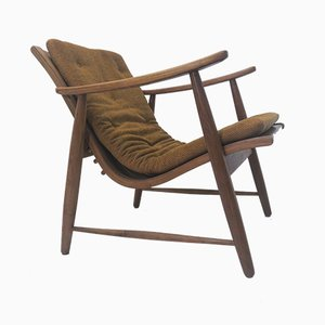 Mid-Century Ronco Armchair by Jacob Müller for Wohnhilfe