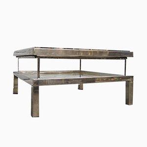 Table Basse en Verre de Maison Jansen, 1970s