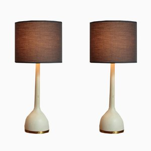 Vintage Swedish Table Lamps by Hans-Agne Jakobsson, 1960s, Set of 2