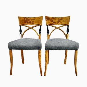 Personalisierbare antike Stühle, 2er Set