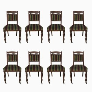 Antique Chairs by Urquhart & Adamson, 1880s, Set of 8