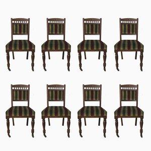 Sedie antiche di Urquhart & Adamson, fine XIX secolo, set di 8