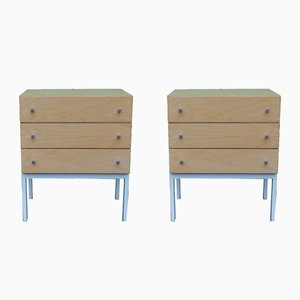 Mid-Century Modernist Nightstands, Set of 2