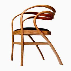 Nina & Beni Ash and Cherry Chair by Andrés Mariño Maza