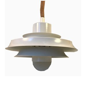 Vintage Danish Rise & Fall Pendant Lamp from Vitrika, 1970s