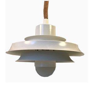 Vintage Danish Rise & Fall Pendant Lamp from Vitrika, 1970s
