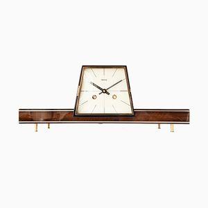 Horloge de Cheminée Moderniste de Hermle, 1950s