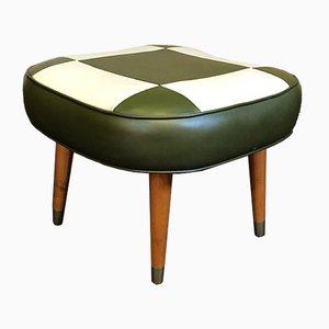 Vintage Atomic Footstool, 1960s