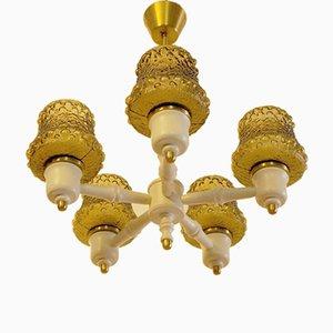 Lámpara de araña vintage de Erik Höglund