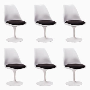 Tulip Chairs by Eero Saarinen, 1980s, Set of 6