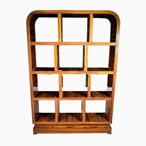 Art Deco French Rosewood Bookcase, 1920s
