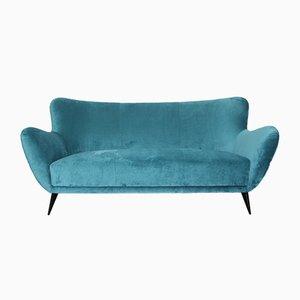 Vintage 3-Seater Perla Sofa by Guglielmo Veronesi for ISA Bergamo, 1950s