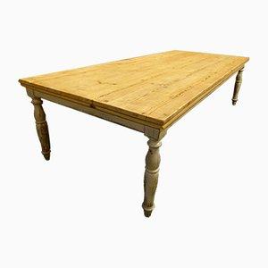 Französischer Tisch aus Pinienholz, 1960er