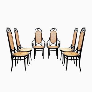 Chaises de Salle à Manger 207R Vintage de Thonet, 1979, Set de 6