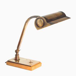 Lampada da tavolo Art Déco vintage, Francia, anni '50