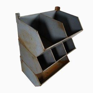 Large Industrial Metal Filing Cabinet, 1950s