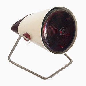 Niederländische Infra Fil Tisch- oder Wandlampe von Charlotte Perriand für Philips, 1960er