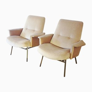 660 Armchairs by Pierre Guariche for Steiner, 1953, Set of 2