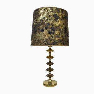 Hollywood Regency Style Tischlampe aus Messing, 1970er