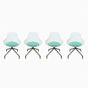 Jakob Swivel Chairs by Chris Martin for IKEA, 2007, Set of 4