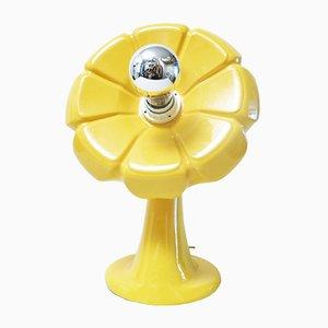Lampada da tavolo a forma di fiore di Enzo Bioli per Il Picchio, anni '60