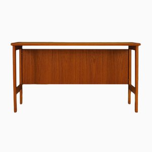 Vintage Danish Teak Writing Desk, 1970s