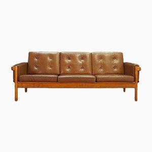 Canapé Vintage en Cuir, Danemark