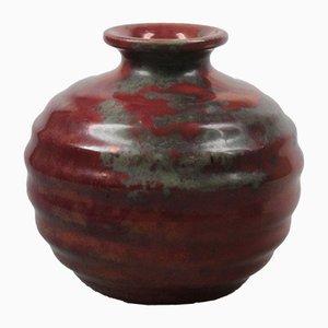 Vaso in ceramica di De Rijn Leiderdorp, anni '20
