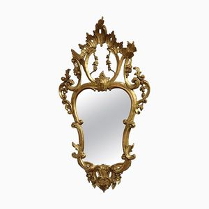 Antique Carved and Gilded Mirror, 1880s