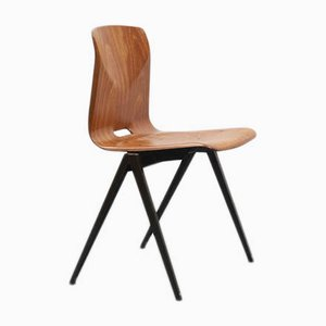 Vintage Modell S22 Stuhl aus Eiche von Galvanitas