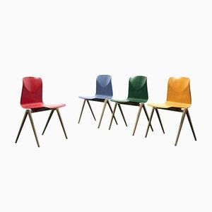 S22 Stühle von Galvanitas, 1970er, 4er Set