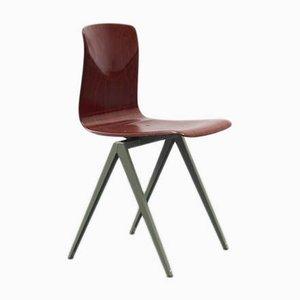 Vintage Modell S19 Stuhl aus Mahagoni von Galvanitas