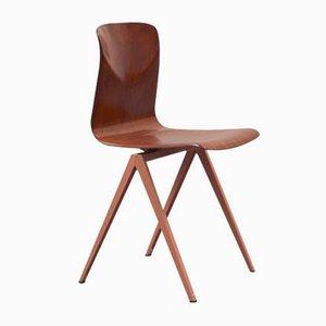 Vintage Modell S19 Stuhl aus Eiche von Galvanitas